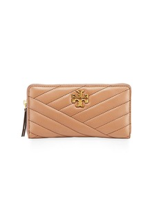 Tory Burch Kira Quilted Leather Continental Wallet