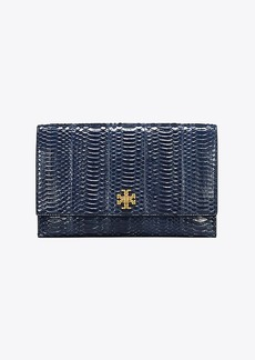 Tory Burch KIRA SNAKE CLUTCH