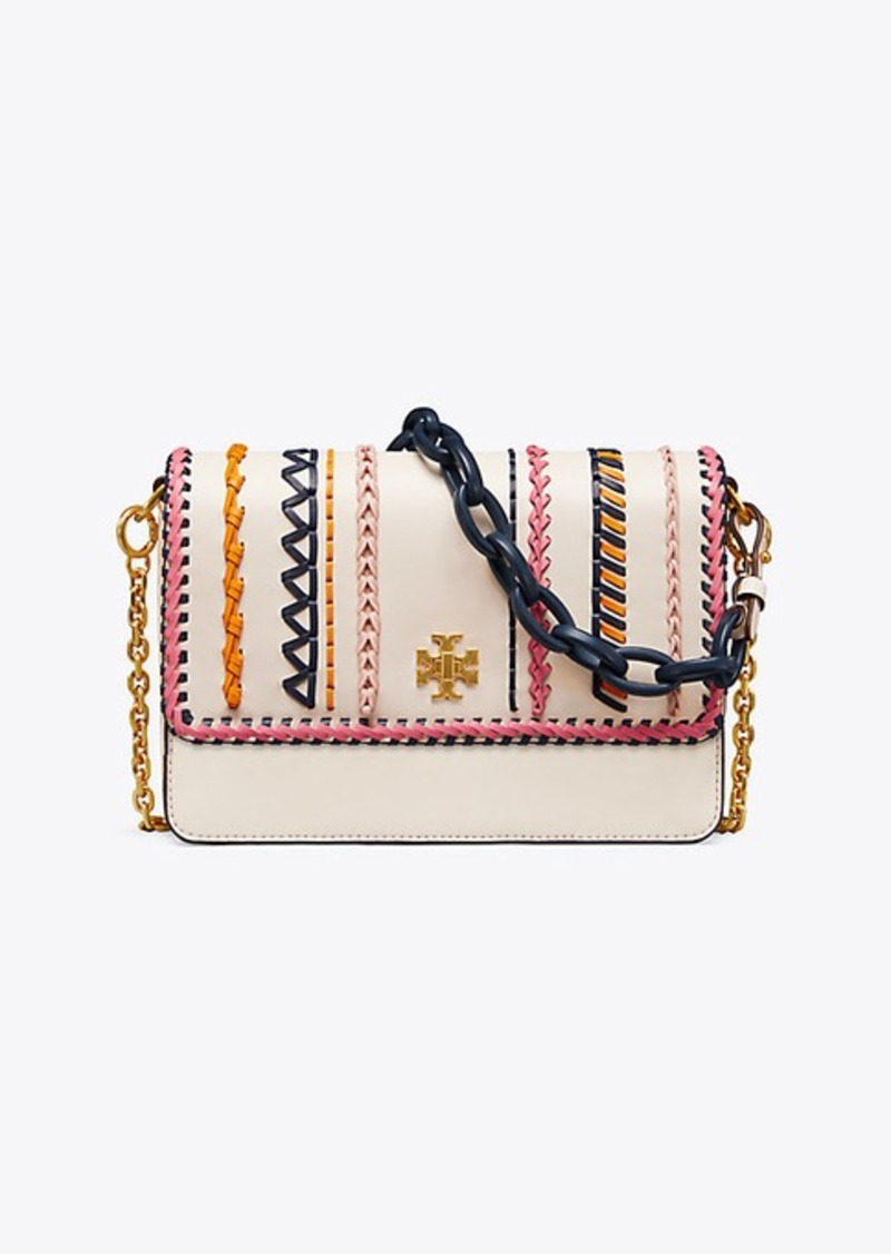 8fb1e18e9f30 On Sale today! Tory Burch KIRA WHIPSTITCH DOUBLE-STRAP SHOULDER BAG