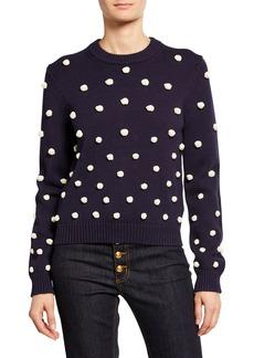 Tory Burch Knit Crochet Sweater