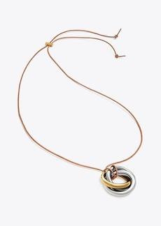 Tory Burch KNOT PENDANT NECKLACE