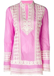 Tory Burch lace embroidered tunic