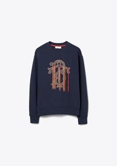 Tory Burch Logo Sweatshirt