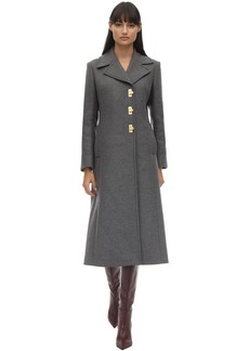 Tory Burch Long Wool Blend Coat