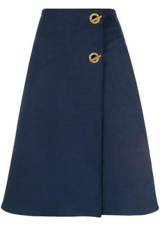"Tory Burch ""marine"" A-line skirt"