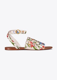 MAY PRINTED FLAT SANDAL