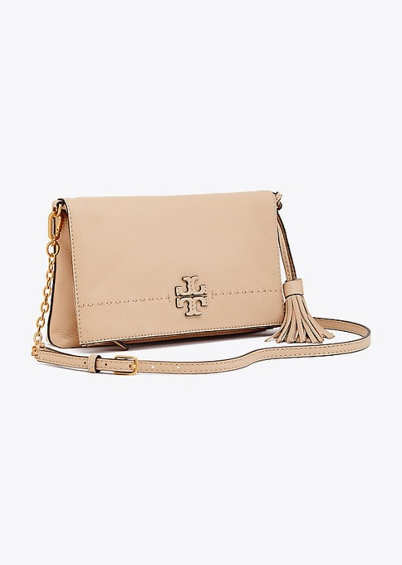 474aa7b4c87a9 Tory Burch MCGRAW CHAIN FOLD-OVER CROSS-BODY