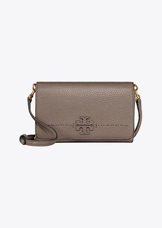 Tory Burch MCGRAW FLAT WALLET CROSS-BODY
