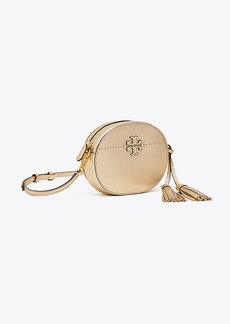 Tory Burch MCGRAW METALLIC ROUND CROSS-BODY