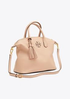 d0a2a1c417 Tory Burch McGraw Patchwork Satchel | Handbags