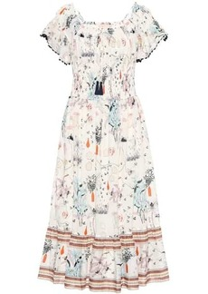 Tory Burch Meadow Folly cotton midi dress