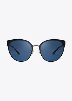 Tory Burch Metal Cat-Eye Sunglasses
