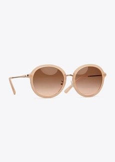 Tory Burch Metal-Temple Sunglasses