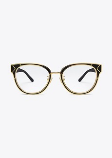 Tory Burch METAL-TRIM EYEGLASSES