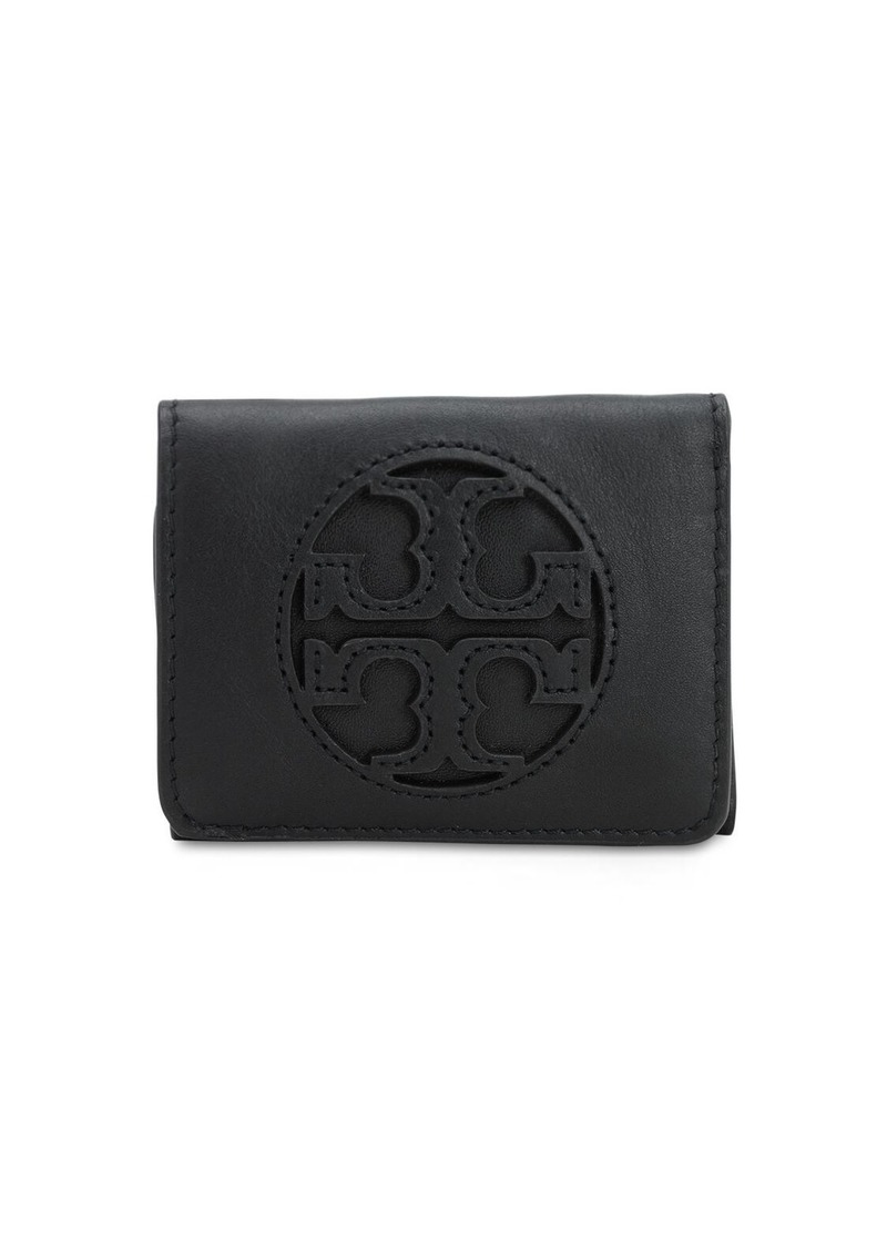 Tory Burch Micro Miller Leather Wallet