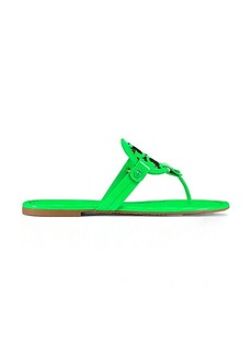 MILLER FLUORESCENT SANDAL, PATENT LEATHER