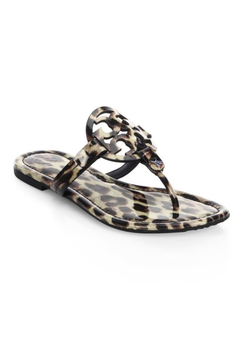 e872cfbd6255 Tory Burch Miller Printed Leather Sandals