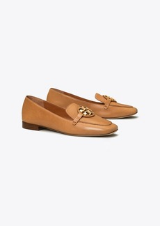 Tory Burch Miller Metal-Logo Loafer, Leather