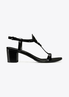 Tory Burch MILLER MID-HEEL SANDAL, PATENT LEATHER