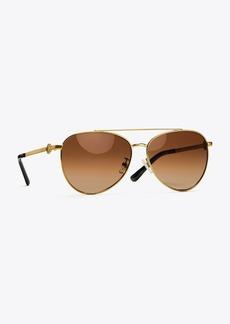 Tory Burch Miller Pilot Sunglasses