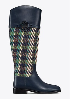 Tory Burch MILLER RIDING BOOT, TWEED
