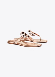 Tory Burch MILLER SANDAL, METALLIC LEATHER