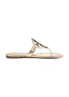 MILLER SANDAL, METALLIC LEATHER