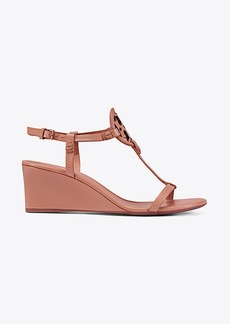 MILLER WEDGE SANDAL, LEATHER
