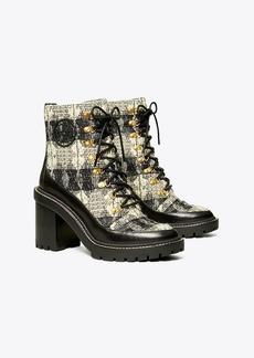 Tory Burch Miller Wool Lug Sole Boot