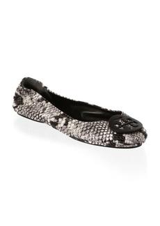 Minni Roccia Leather Ballet Flats