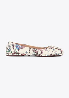 Tory Burch MINNIE TRAVEL BALLET FLAT, PRINTED LEATHER