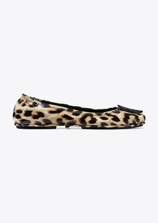 MINNIE TRAVEL BALLET FLAT, PRINTED PATENT LEATHER