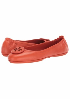 Tory Burch Minnie Travel Ballet with Leather Logo