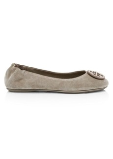 Tory Burch Minnie Travel Suede Ballet Flats