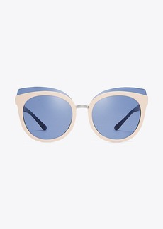 MIXED-MATERIALS PANAMA SUNGLASSES