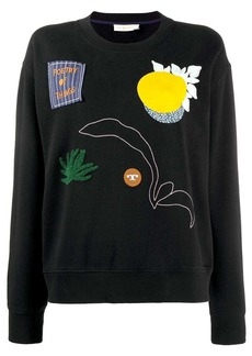 Tory Burch multi-patch sweatshirt