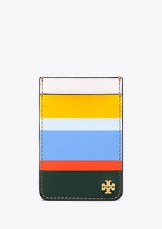 Tory Burch MULTI-STRIPE CARD POCKET CASE FOR IPHONE 7