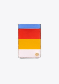 Tory Burch MULTI-STRIPE CARD POCKET CASE FOR IPHONE 7