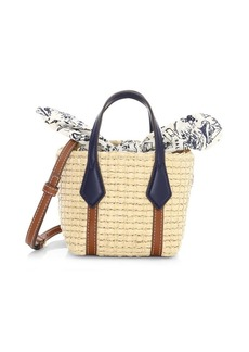 Tory Burch Nano Perry Straw Tote