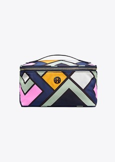 Tory Burch NYLON LARGE TRAIN CASE