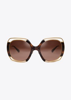 Tory Burch OPEN-WIRE SUNGLASSES