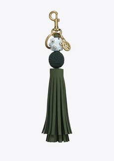 Tory Burch ORB TASSEL KEY RING