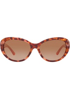 Tory Burch oval frame sunglasses