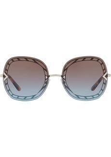 Tory Burch oversized frame sunglasses