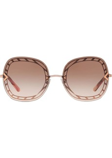 Tory Burch oversized frame sunglasses