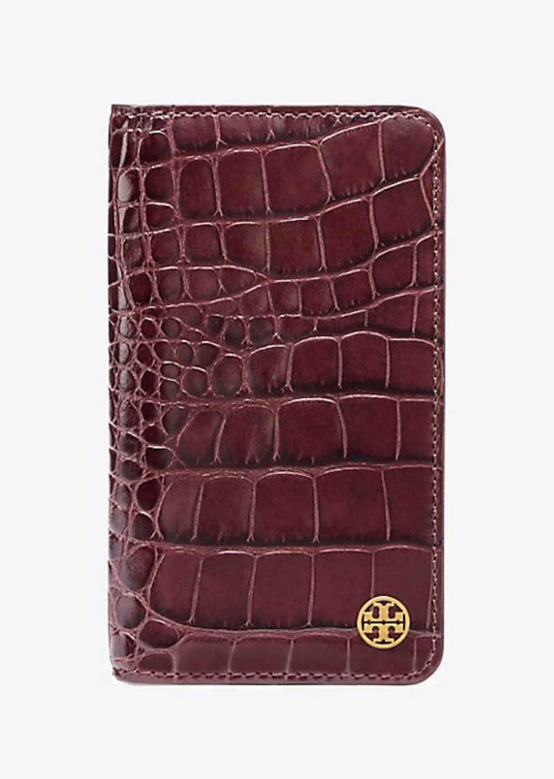 newest collection b03f2 68571 PARKER EMBOSSED FOLIO CASE FOR IPHONE 7