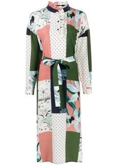 Tory Burch patchwork shirt dress