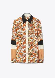 Tory Burch Patchwork Stud Shirt