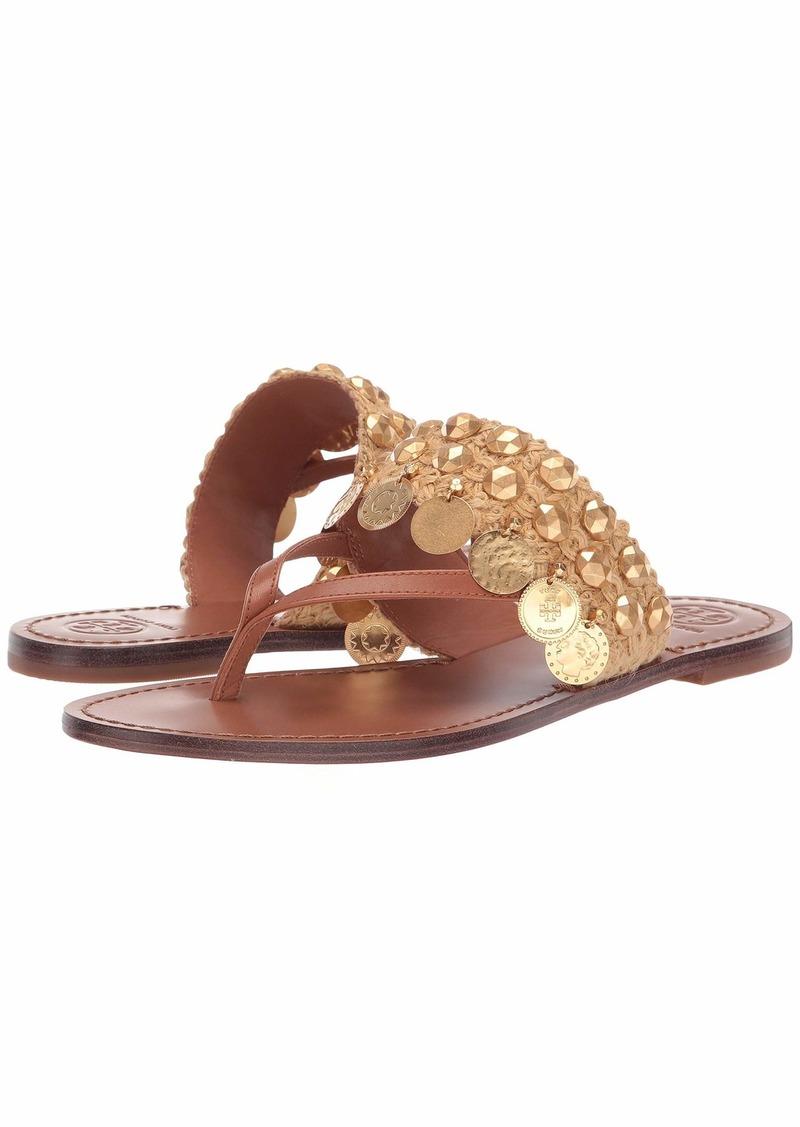 Tory Burch Patos Coin Thong Sandal