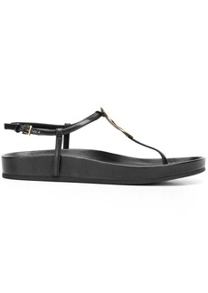 Tory Burch Patos round-charm leather sandals